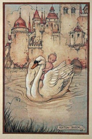 Birth Announcement, Anton Pieck