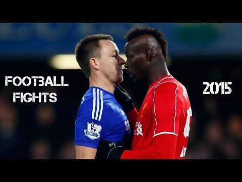 Football Fights Between Players and Angry Moments • 720p HD - YouTube