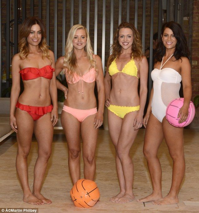 girls swim team strip down