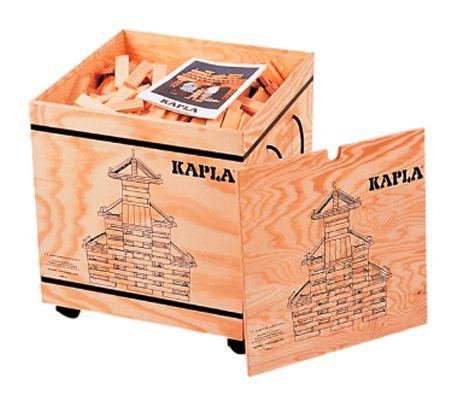 KAPLA byggesystem med 1000 staver. Lærer logikk og konstruksjon.