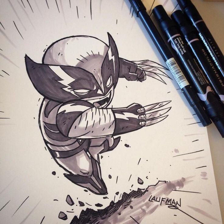 Commission - Wolverine by DerekLaufman on DeviantArt