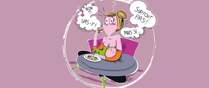 Alimentation pendant l'allaitement. Stop aux idées reçues ! | MNH HOP