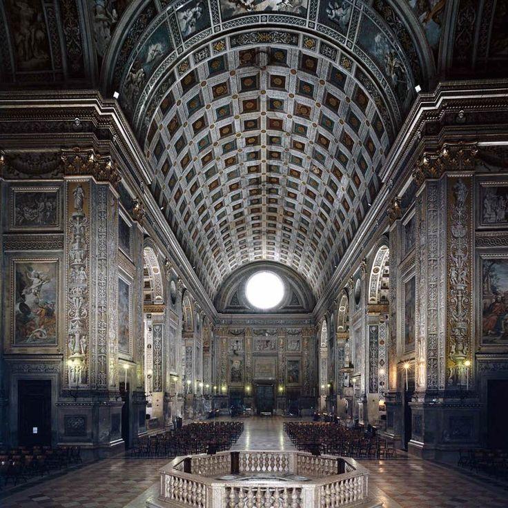 Leon Battista Alberti. Interior, S. Andrea. Mantua begun 1472  #architecture #alberti