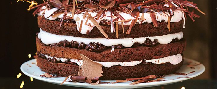 Chocolate Celebration Cake by Jamie Oliver