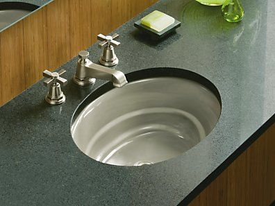 ... Undermount Bathroom Sink. See More. 9 Colors Available, Shown Here In  Basalt. KOHLER | K 2832 0