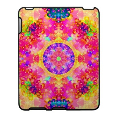 Pink and Yellow Kaleidoscope Fractal Ipad Case $56.20: Fractal Pink, Pink Yellow, Kaleidoscope Fractal, Hippie, Fractal Art, Yellow Kaleidoscope, Kaleidoscope, Fractals
