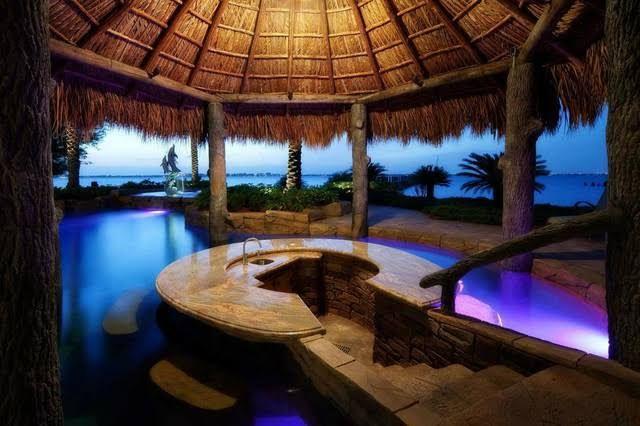Amazing Pools With Swim Up Bars Lhs Bar Pool