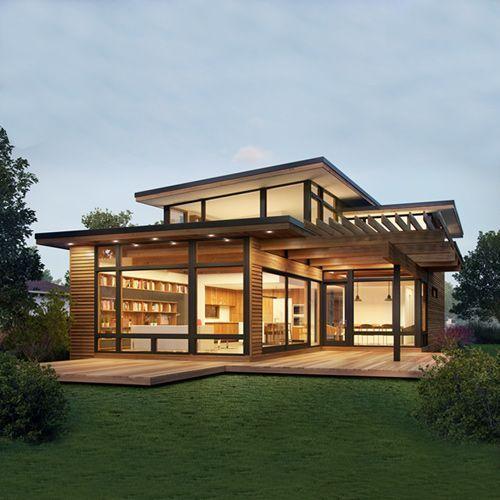 Modern modular homes canada prefab 2 barncabin in 2019 - Modern design manufactured homes ...