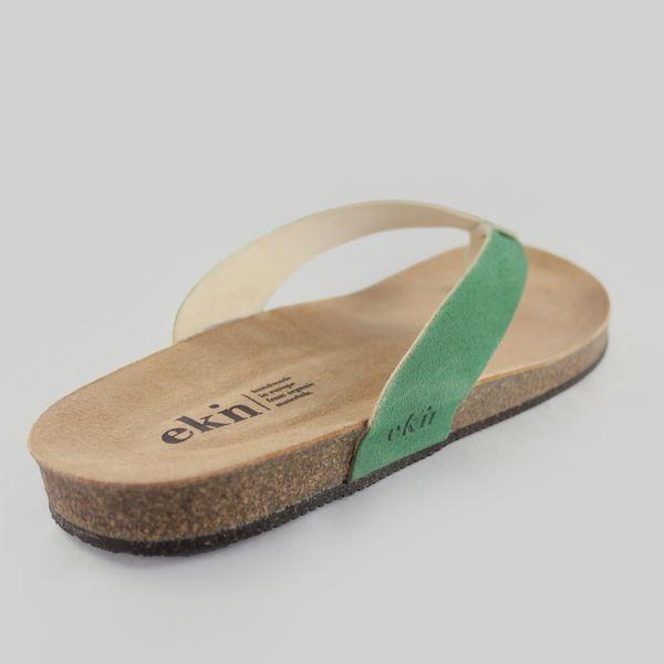 Öko Sandale aus Bio- und recycelten Materialien