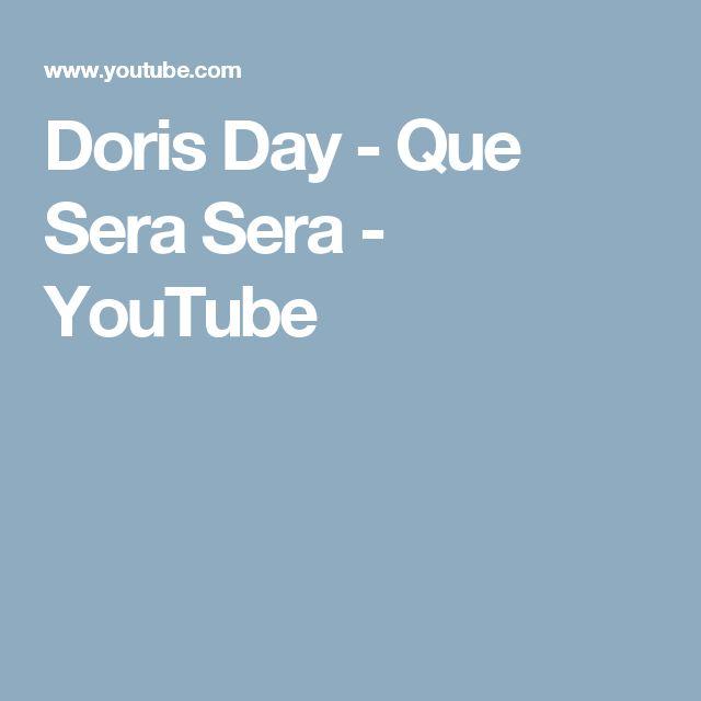 Doris Day - Que Sera Sera - YouTube