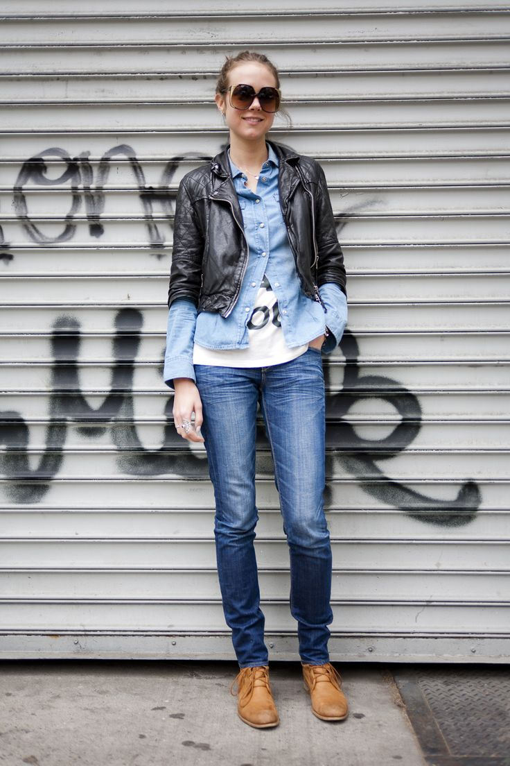 Celebrate Jeans for Genes Day, August 7th 2015 and see more great denim inspiration on Don't Call Me Penny. #jeansforgenesAU http://www.dontcallmepenny.com.au/jeans-for-genes-day/  Image courtesy of eatsleepdenim.com