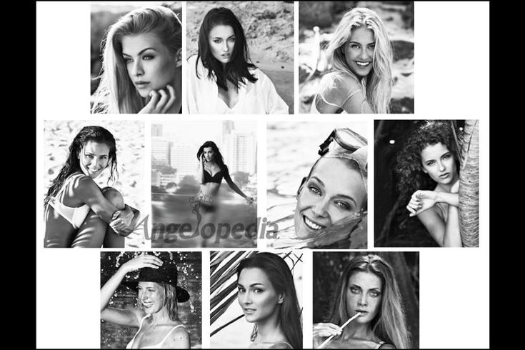 Lukas Dvorak back with his Black & White calendar featuring finalists of Czech Miss 2016