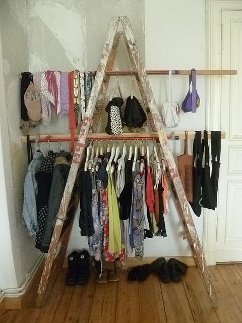Old Coat Rack Stand