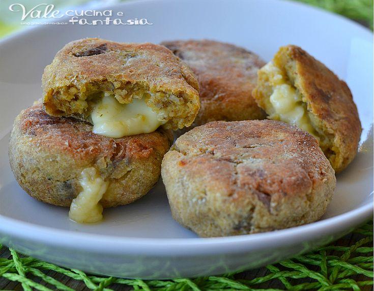 Crocchette di patate e carciofi al forno
