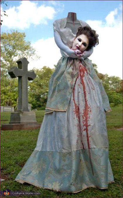 Headless Marie Antoinette - Halloween Costume Contest via @costumeworks