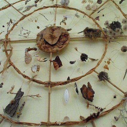 Medicine Wheel: Whole school project: inspired by the work of Lewes based international land artist Chris Drury