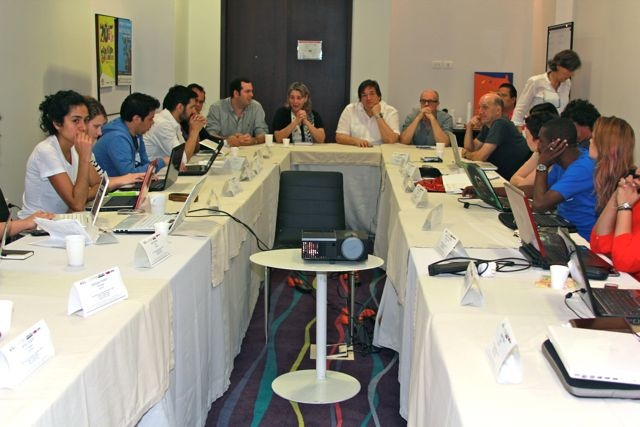 Beca de periodismo cultural Gabriel García Márquez.  (VII)  Fotografía: Milton Ramírez @FOTOMILTON. MIncultura 2013