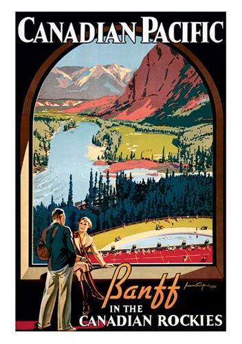 love the old Canadian railroad poster art
