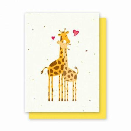 Трогательные жирафы – наилучший способ сказать о вашей любви кому-то особенному.
