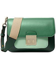 dc00eb2582d4 MICHAEL Michael Kors Sloan Editor Colorblock Leather Shoulder Bag  Macys   Fashion  Handbags  Trending