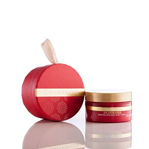 Body cream in a bauble from Champneys - what's not to like? http://www.allaboutyou.com/fashion-and-beauty/products/christmas-gift-ideas-hair-makeup-beauty-products?page=3