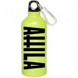 ATTILA Cross Logo Water Bottle #attila #waterbottle #beach #green #swag #linegreen #clipable #backpack #biking #onthego #rockabilia #summer #outdoors #vacation #accessories #band #bandmerch #licensed #licensedmerch #merch #rocknroll