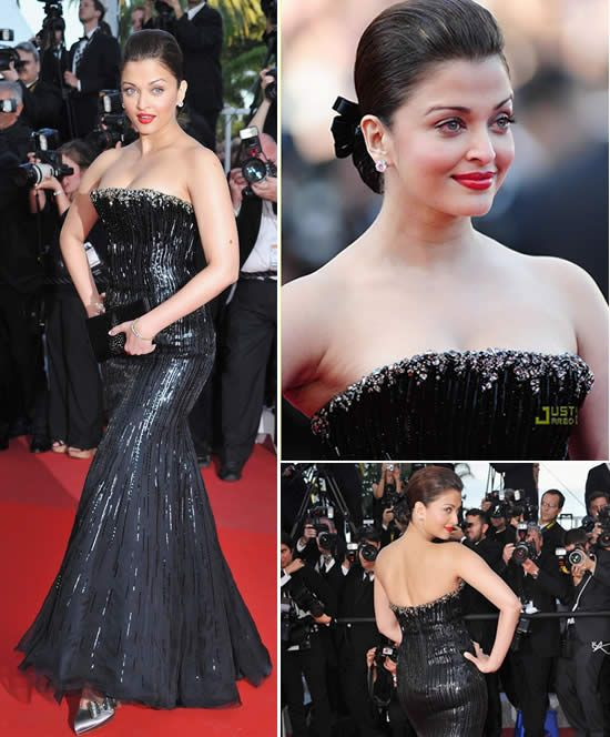 Cannes Day 2 – Sarees vs. Gowns | WeddingSutra Editors Blog – WeddingSutra.com