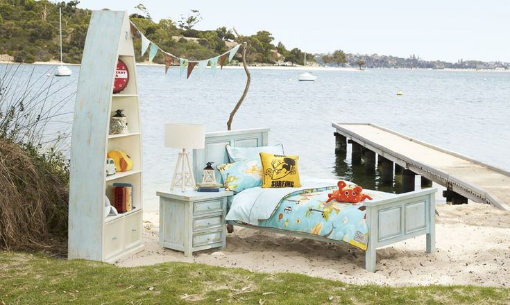 Darcy King Single Timber Bed   Bedshed