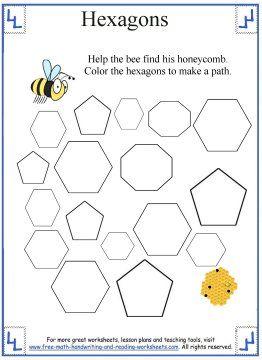 hexagon shape maze