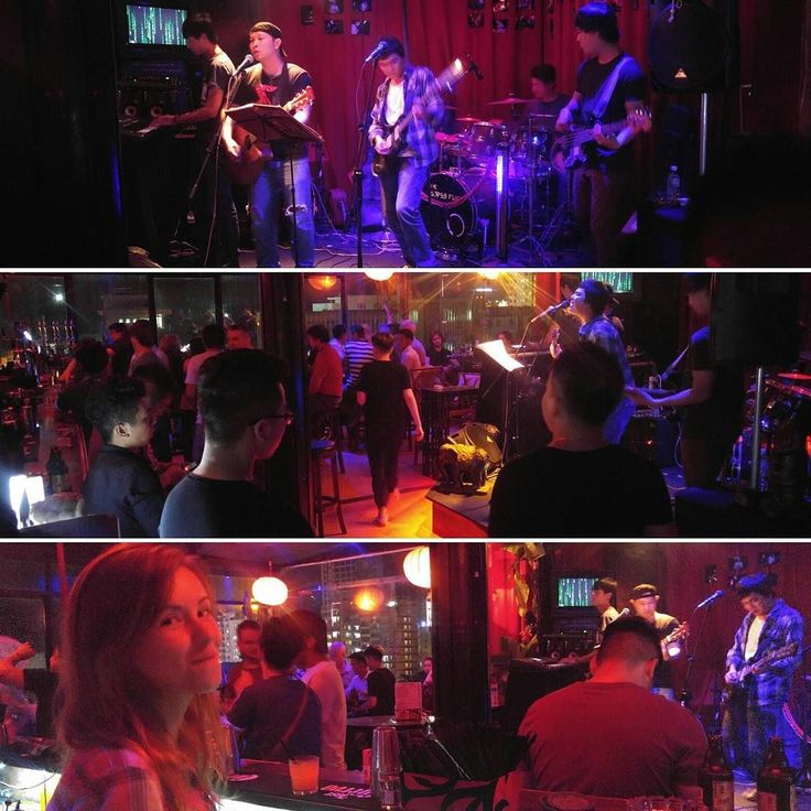 The Look Band has a #fullhouse on The Rooftop Lounge!  Join us it is just the start of another great night in our beautiful city!  #thelookband #therooftoplounge #nhatrang #vietnam #livemusic