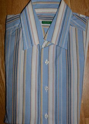 À vendre sur #vintedfrance ! http://www.vinted.fr/mode-hommes/chemises/28034087-tres-belle-chemise-homme-t-m-marque-benetton-tbe