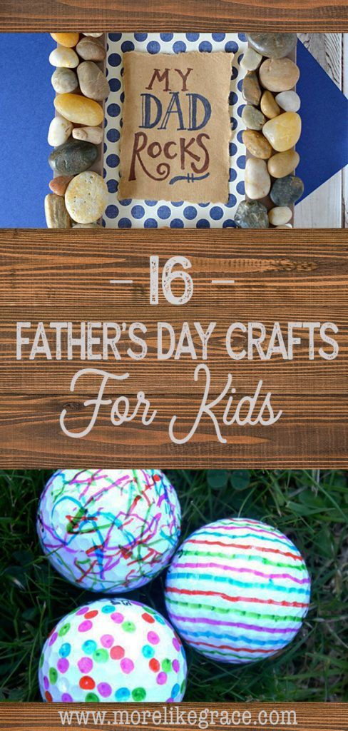 16 Father's Day Crafts for Kids | Crafting with Kids | Kids