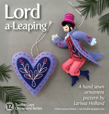 mmmcrafts - Lord a-Leaping pattern is now available.