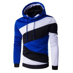 SHARE & Get it FREE | Color Blocks Spliced Long Sleeve HoodieFor Fashion Lovers only:80,000+ Items • FREE SHIPPING Join Twinkledeals: Get YOUR $50 NOW!