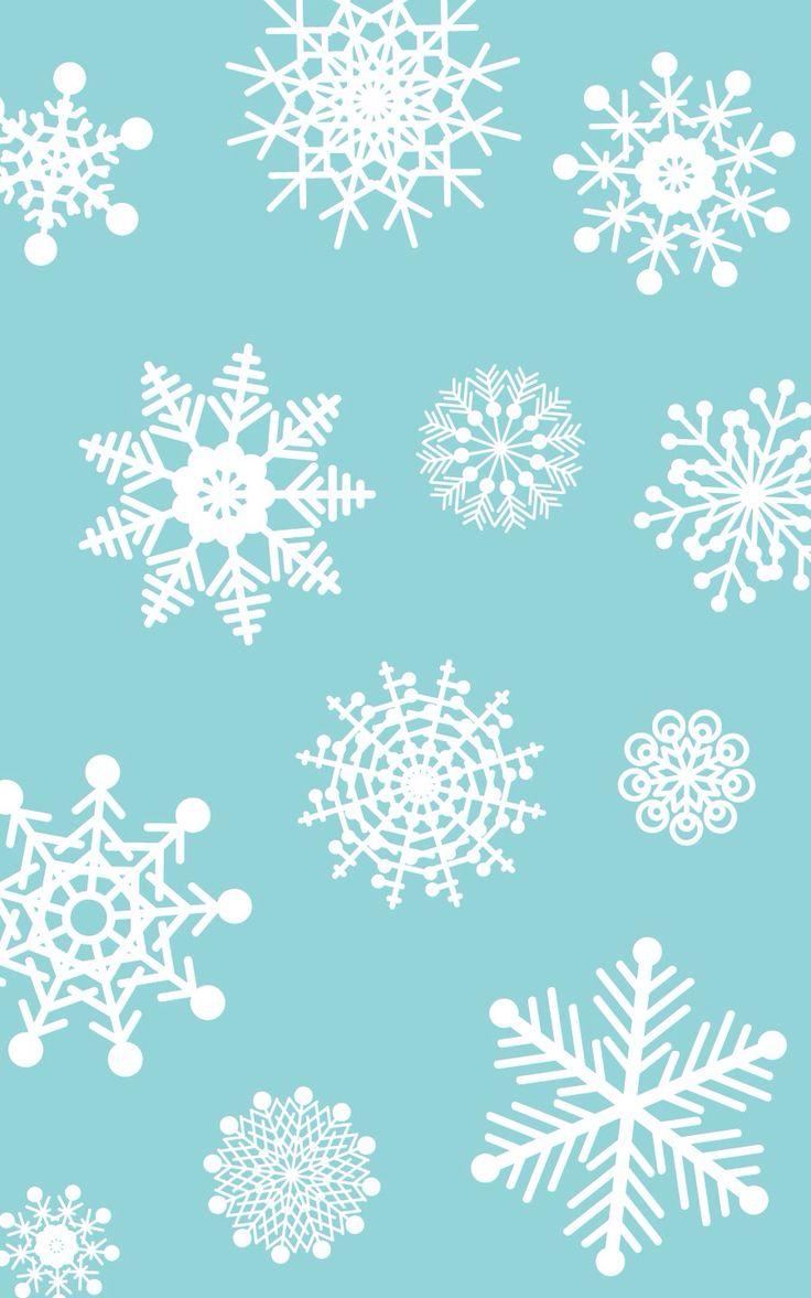 Snowflake iphone wallpaper