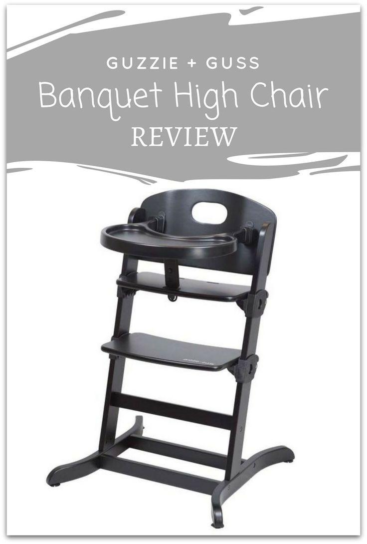Diy wooden baby chair - Guzzie Guss Banquet Wooden High Chair Review