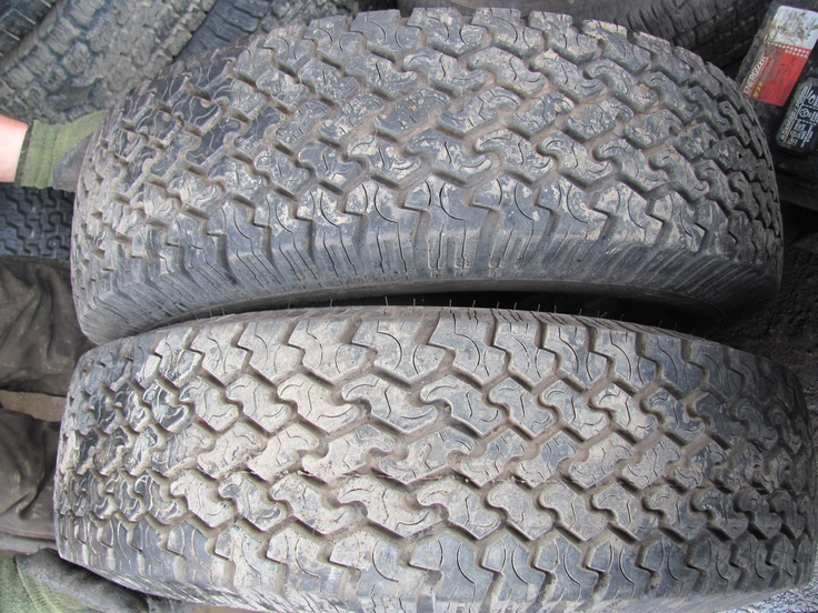 LT 225/75 R16 Snow and Mud Tires for sale $60.00 set of Two.