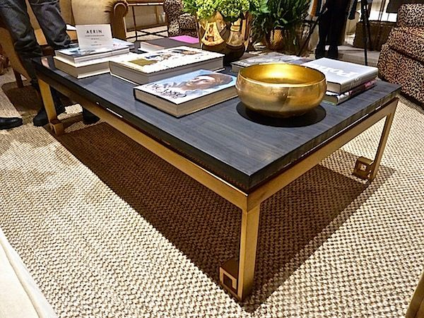 AERIN Furniture At EJ VICTOR. Cromwell Cocktail Table. Via Quintessence  Blog.
