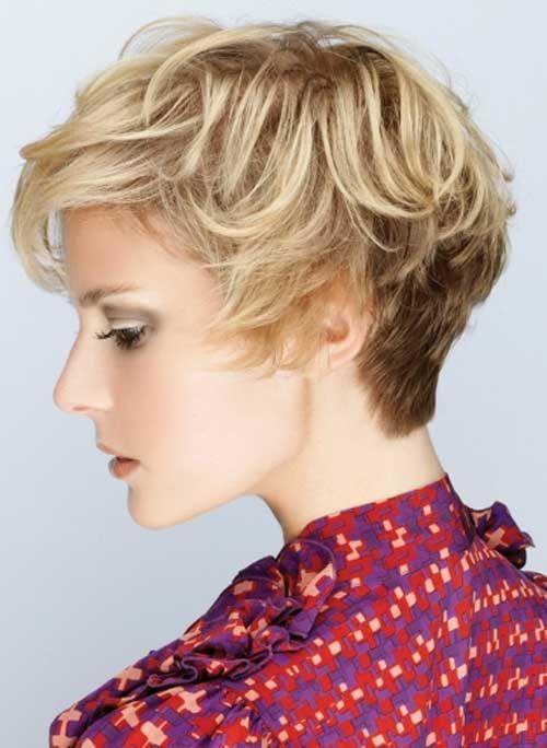 25 Blonde Short Haircuts | http://www.short-haircut.com/25-blonde-short-haircuts.html