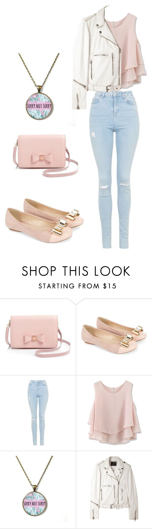 """"" by prettygirlrock9 ❤ liked on Polyvore featuring Ted Baker, Monsoon, Topshop, Chicwish and R13"