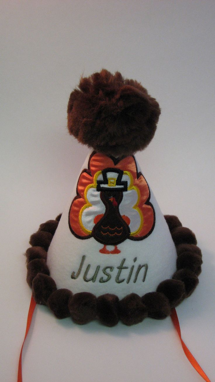 Handmade Custom Thanksgiving Birthday Party by embroideryboutique1, $25.00