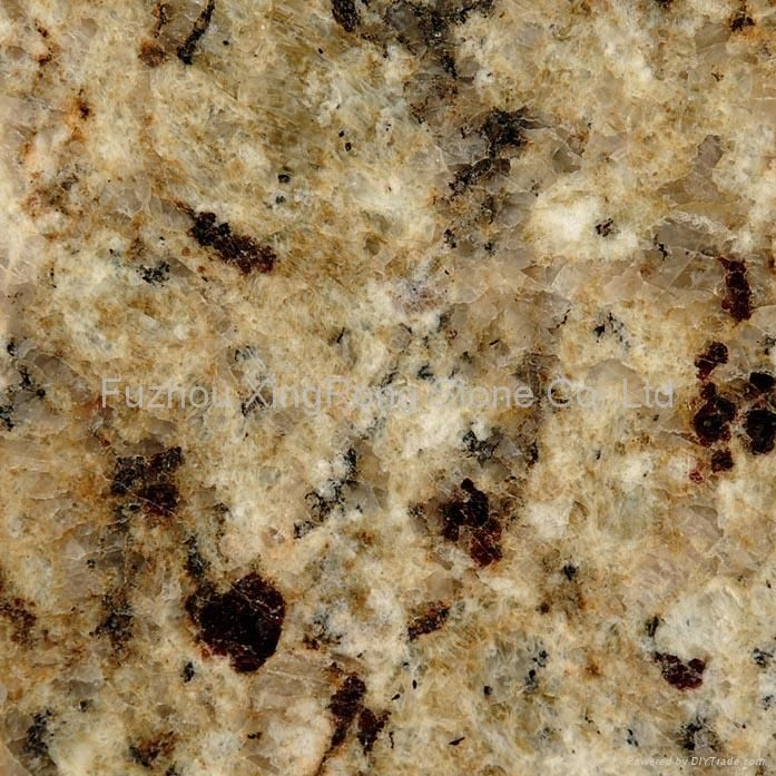 New Venetian Gold Granite w/espresso cabinets  I picked this out for our kitchen, 3 mre weeks and the house will be done!