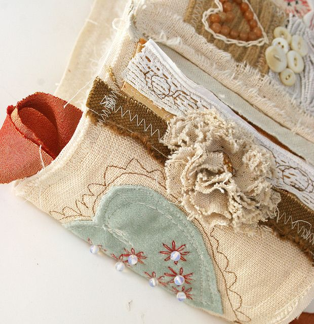 four hearts journal by Rebecca Sower, via Flickr