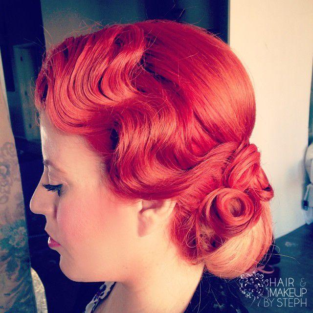 Finger Waves Wedding Hairstyle: 96 Best Fingerwaves, Pin Curls, Short Fingerwave Styles