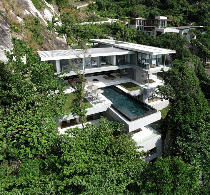 Villa Amanzi in Phuket, Thailand: Dreams Home, Luxury Villas, Phuket Thailand, Dreams House, West Coast, Modern Home, Pools, Modern House, Dreamhous