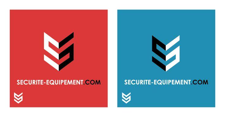 Logo pour une entreprise de distribution de matériels de sécurité