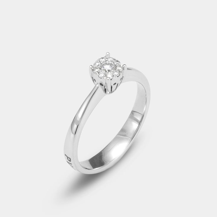 #engagement ring #diamondring #pontevecchiogioielli