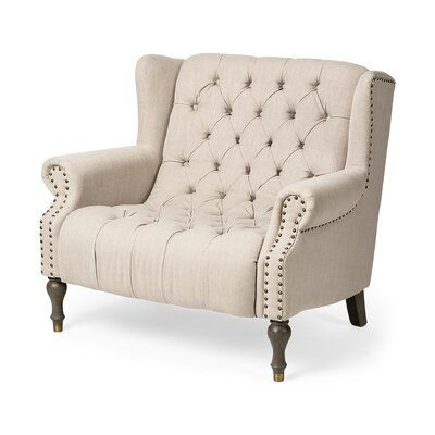 Darby Home Co Quinnlynn Wingback Chair Chair Home Comfortable Chair
