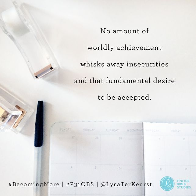 Let's talk about Lysa TerKeurst's two-fold strategy for kicking those feelings of inadequacy to the curb. || Week 3 #BecomingMore || Proverbs 31 Online Bible Studies