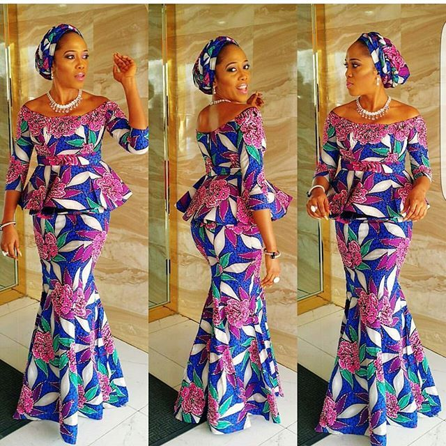 Beautiful Ankara Skirt and Blouse Style .... Beautiful Ankara Skirt and Blouse Style